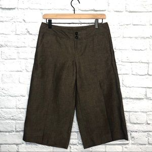 Banana Republic Brown Long Bermuda Shorts